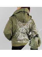 Yakuza Chaqueta de invierno Inked In Blood verde