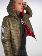 Yakuza Chaqueta de invierno Eight Quilted verde