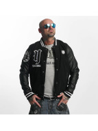 Yakuza College Jacket Cross Bones black