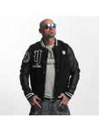 Yakuza Cross Bones College Jacket Black