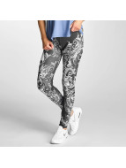Floral Leggins Black...
