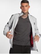 Yakuza Punx Two Face Zipper Jacket Gray Dawn