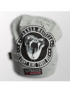 Yakuza Hat-1 Snake Patch gray