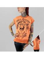 Yakuza Hihattomat paidat Skull oranssi