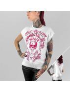 Yakuza Hihattomat paidat Skull valkoinen