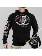 Yakuza Hoodie Fight Faith black