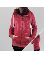 Yakuza Hoodies con zip Thunder And Lightning rosso