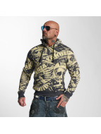 Yakuza Hoodies Gunner Allover sarı
