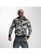 Yakuza Hoodies Gunner Allover svart