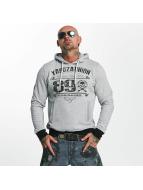 Yakuza 893 Union Hoody Light Grey Melange
