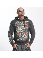 Yakuza Hoody Drug Dealer grau
