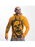 Yakuza Hoody Allover King oranje