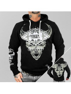 Yakuza Hoody Good Hunting zwart