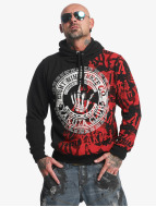 Yakuza Club Hoody Black/Red