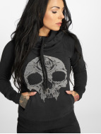 Yakuza Hupparit Velvet Skull II musta