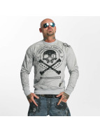 Yakuza Thorns Sweatshirt Light Grey Melange