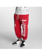 Yakuza Jogging pantolonları 2Face kırmızı