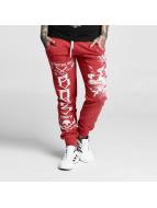 Yakuza Jogging pantolonları One Heart kırmızı
