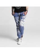 Yakuza Jogging pantolonları One Heart mavi