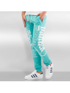 Yakuza Jogging Fly Or Die turquoise