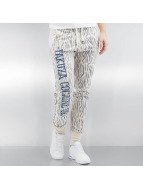 Yakuza joggingbroek Jesus or Cocaine beige