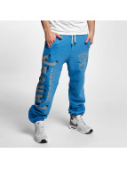 Yakuza joggingbroek Fight Faith blauw