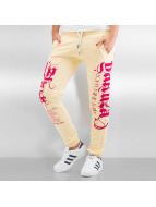 Yakuza joggingbroek Sweatpants geel