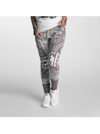 Yakuza joggingbroek Believe grijs