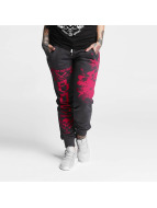 Yakuza joggingbroek One Heart grijs