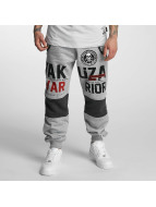 Yakuza joggingbroek Warrior grijs
