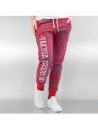 Yakuza joggingbroek Jesus or Cocaine rood