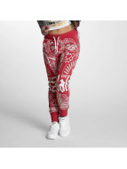 Yakuza joggingbroek Believe rood