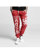 Yakuza joggingbroek One Heart rood