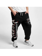 Yakuza joggingbroek Fight Faith zwart