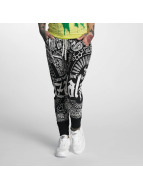 Yakuza joggingbroek Believe zwart