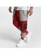 Yakuza Punx Two Face Antifit Sweatpants Ribbon Red