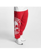 Yakuza Joggingbyxor Skull Label röd