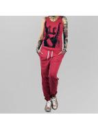 Yakuza jumpsuit Rocker rood