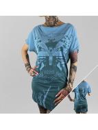 Yakuza jurk Moth blauw