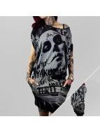 Yakuza Kleid Mexican schwarz