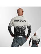 Yakuza Langermet Splatter svart