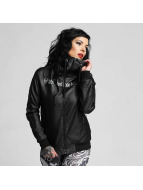 Yakuza Leather Jacket One Love Faux Leather black