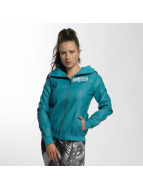 Yakuza Leather Jacket Believe Faux turquoise