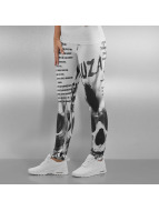 Yakuza Leggings Commandments blanc