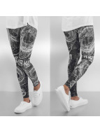 Yakuza Leggings All-Over Print noir