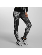 Yakuza Leggings/Treggings Skull Dawn czarny