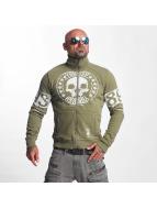 Yakuza Lightweight Jacket Skull Label green