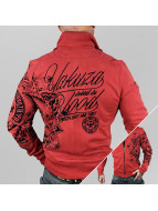 Yakuza Lightweight Jacket Inked In Blood red