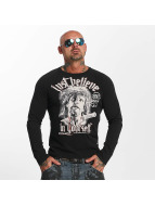 Yakuza Longsleeve Just Believe black