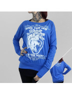 Yakuza Longsleeve Into Your Heart Wide Crew blue